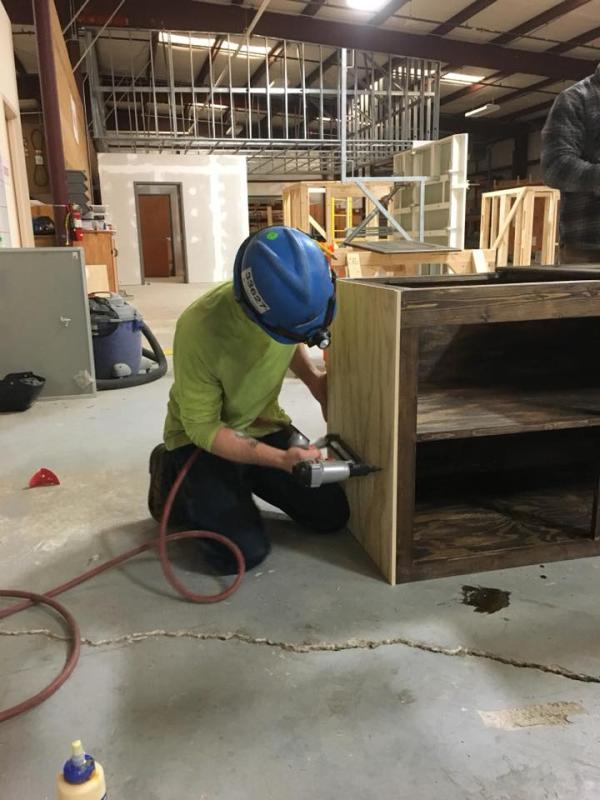4th Year Apprentice Cabinet Making Class